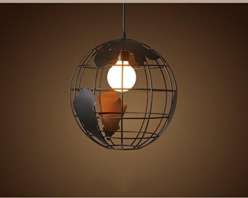 Plafoniere Stile Industriale : Zdhlfyx metallo vintage sospensione lampadario retrò in