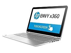 HP Envy x360 15-W101TX 15.6-inch Laptop (Core i7-6500U/8GB/1TB/Windows 10 Home/2GB Graphics), Natural Silver