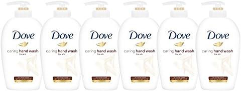 6 x Dove Supreme Fine Silk Beauty Cream Wash White