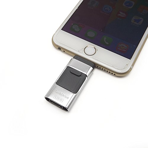 eMart-32GB-i-Flash-Drive-USB-Stick-Memory-Expansion-Storage-Pendrive-for-iPhone-iPad-Series-Computer-and-Android-Phones-Silver