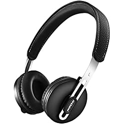 Mpow Auriculares Inalambricos Diadema Bluetooth con Micrófono, Cascos Bluetooth 14 Horas Reproducción de Música, 280 Horas Espera, Manos Libres Ligero y Compacto Chip CSR para Moviles Androd IOS TV PC