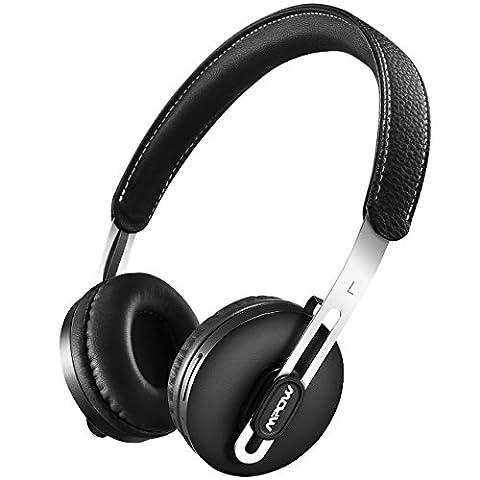 Mpow Bluetooth Headphones, [Ultra Light] Wireless On Ear Headphones On-ear Headset with Protein Ear Pads and Adjustable Headband