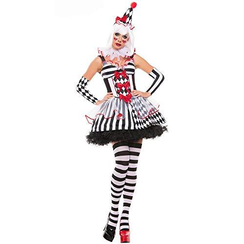 WWAVE Lady Cute Clown Outfit Spiel einheitliche Rolle Spielen Cos (Cute Clown Kostüm)