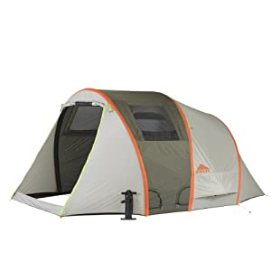 kelty  mach airpitch unisex outdoor tunnel tent available in grey - 4 persons