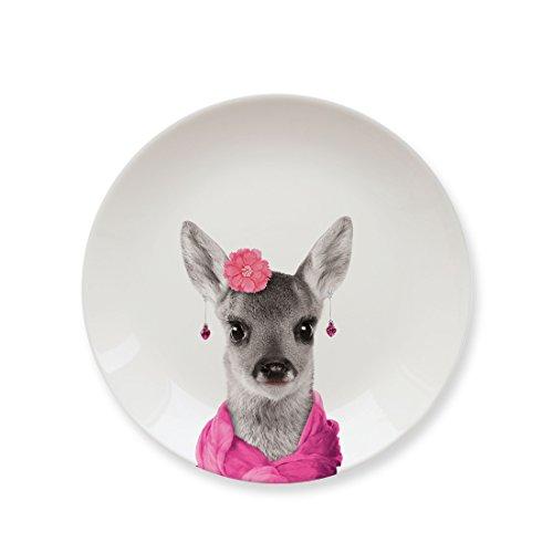Mustard Kleiner Teller Keramik - Wild Dining Hirsch