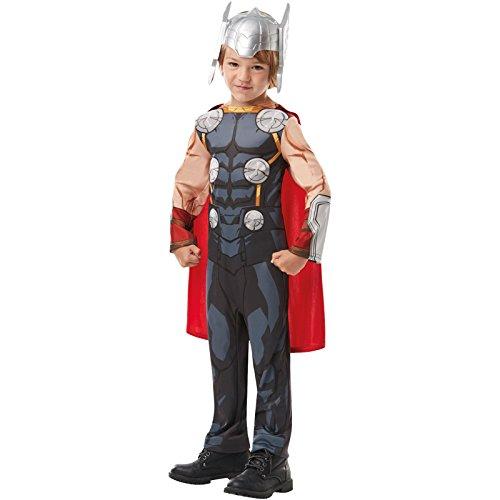 Rubie's 640835s Marvel Avengers Thor Classic Kind Kostüm, Jungen, klein