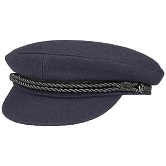 91455386667 Hammaburg Elbe Sailor Cloth Hat flat sailor´s cap blue - 53 cm ...