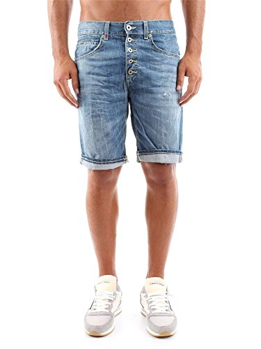 DONDUP ROLLY UP334 G87 BERMUDA E SHORTS Uomo G87 34