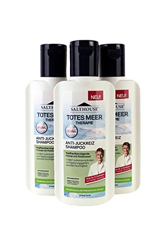 Anti Juckreiz Shampoo (Salthouse Totes Meer Therapie Anti-Juckreiz Shampoo 250ml, Menge:3er Pack)