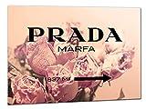 Kuader Prada Marfa Gossip Girl Vintage Rosen Prada Bild Druck Auf Leinwand Für Den Innenausbau Pro40, 50x70 cm