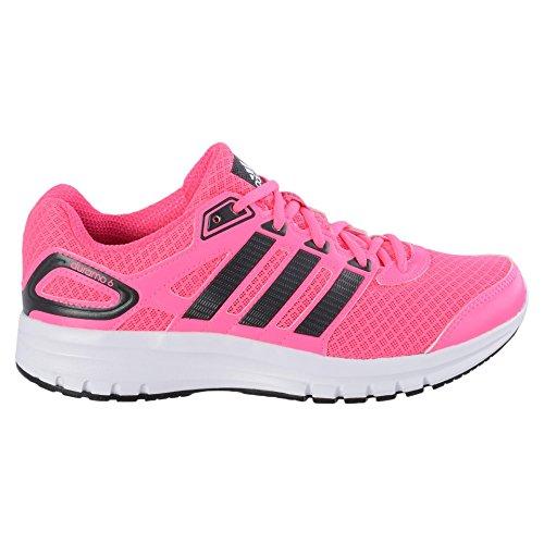 adidas Performance Duramo 6, Damen Laufschuhe, Pink (Solar Pink/Core Black/Core Black), 40 2/3 EU (7 Damen UK)
