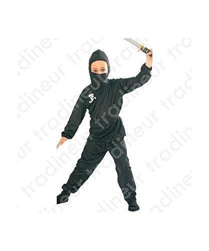 Kostüm von ninja (Größe 7-9 Jahre alt)