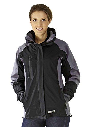3636 Planam Shape Damen Jacke schwarz/ grau (XL (44), schwarz/ grau)