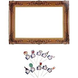 B Blesiya Selfie Photo Frame Cornice Stile Retro+ Foto Prop Ornamento Per Nozze Graduazione Laurea Festival