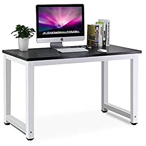 Tribesigns Modern Simple Style Computer PC Laptop Desk Study Table Workstation for Home Office, Black