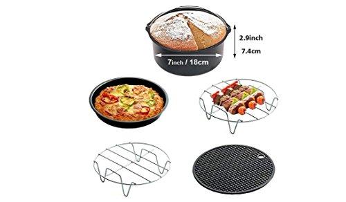 Topf Rack 5Pcs, Home liefert Küche Werkzeug Pot Rack Eletric Topf Rack Fritteuse Topf Rack Backen Topflappen Pizza Gerichte Halterung