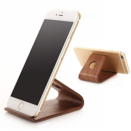 eimolife ® Creative artisanal naturel bois bambou dur panneau Stand Holder pour iPhone, iPad, SamSung, Universal Mobile Phone, tablettes, eReaders, artisanat et plus (bou