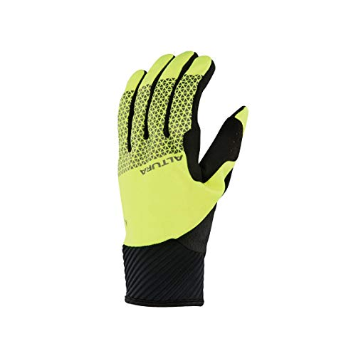 Altura Men's Nightvision 4 Windproof Gloves Hi-Viz Yellow/Black, Large