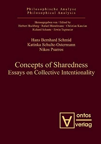 Concepts of Sharedness: Essays on Collective Intentionality por Hans Bernhard Schmid