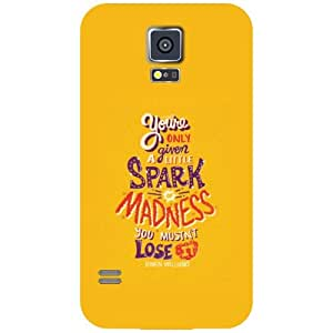 Printland Spark Madness Phone Cover For Samsung Galaxy S5