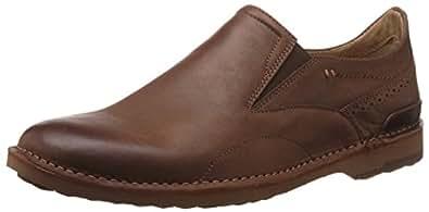 Hush Puppies Men's Balen Fenton Brown Leather Formal Shoes - 10 UK/India (44 EU)(8544157)