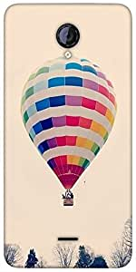 Snoogg Hot Air Ballooning Designer Protective Back Case Cover For Micromax Un...