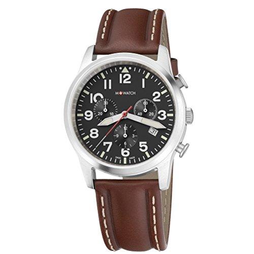 M-Watch MA689.30408.01 Orologio da Polso, Cinturino Pelle, Uomo, Marrone
