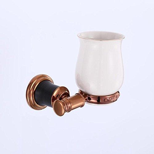 XBR brosse à dents en or rose titulaire, toilettes rack, savoure tasse, tasse - brosse à dents, une salle de bain appareils pendentif