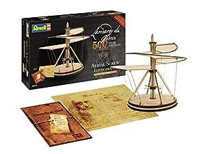 Revell- Aerial Screw (500 Years Leonardo da Vinci) Escala 1:48 Modelo de Kit de Madera, Color (00515)
