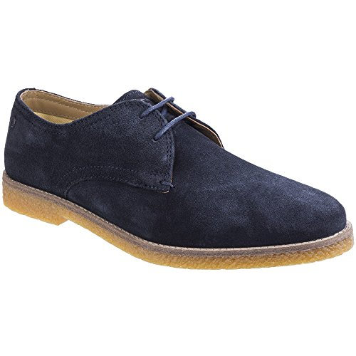 Base London Mens Whitlock Suede Leather Casual Derby Shoes London Suede