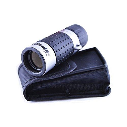 Mini Prismático de 7x18 Aumentos con Funda, Monocular de Bolsillo, Electrónica Rey®