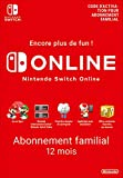 Abonnement Nintendo Switch Online - 12 Mois - Abonnement familial | Switch - Version digitale/code