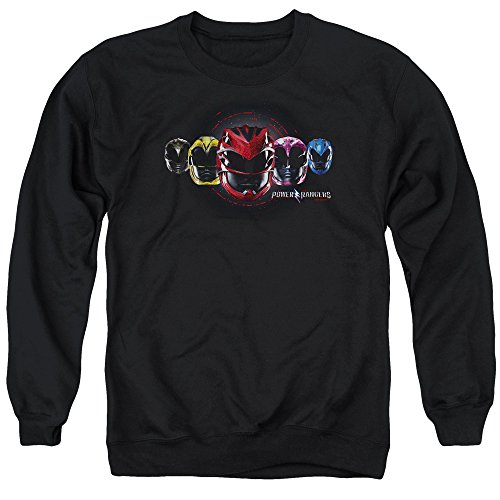 Power Rangers - - Herren Hauptgruppenpullover, XX-Large, Black (Power Rangers 20)