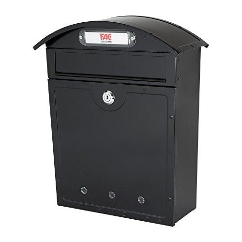 FAC Mediterraner Briefkasten, Farbe schwarz