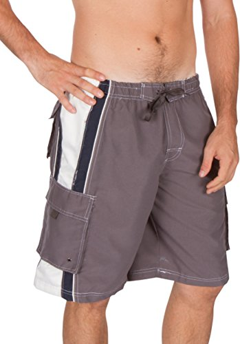 Sakkas Boardshort Patins Surf Boardwalk Anthracite
