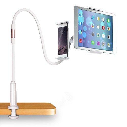 braccio per tablet Supporto Universale Tavolo Per Smartphone Tablet Ipad Iphone Da 4 Ad 8 Pollici Braccio Flessibile