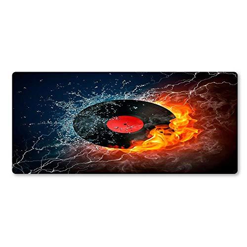 800 * 300 * 3 persönlichkeit eis und feuer rekord mauspad spezielle oberfläche hochwertigen gummi mauspad waschen großhandel erweitertespiel big pad