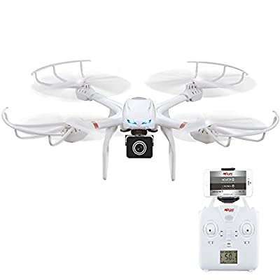 DeeXop Uplay FPV Wifi RC Quadcopter Drone with HD 720P Camera One Key Return Function Headless Mode