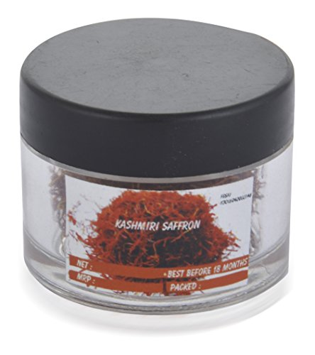 Little Bee Original Kashmiri Saffron - Grade One - Long Threads - 1 Gram  available at amazon for Rs.550