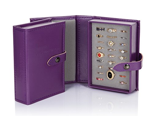 Little Little Book Of Rings Storage - Small Purple by Little Book Of