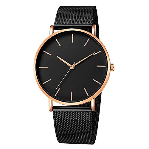 Obestseller Armbanduhren für Herren Mode Edelstahl männer militär Sport Datum analog Quarz Armbanduhr Uhren für Herren Männer Chronograph Schwarz Armbanduhr mit