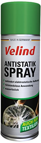 Velind Antistatik Spray, 4er Pack (4 x 300 ml)