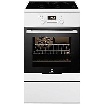 4c6252310858b Electrolux EKI54552OW Cuisinière Plaque avec zone à induction A-10% Blanc  four et cuisinière