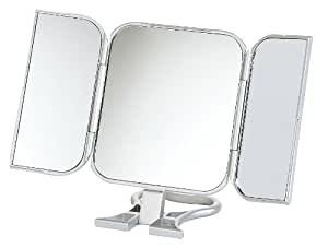 Danielle miroir de voyage triptyque 23 x 12 cm for Miroir danielle