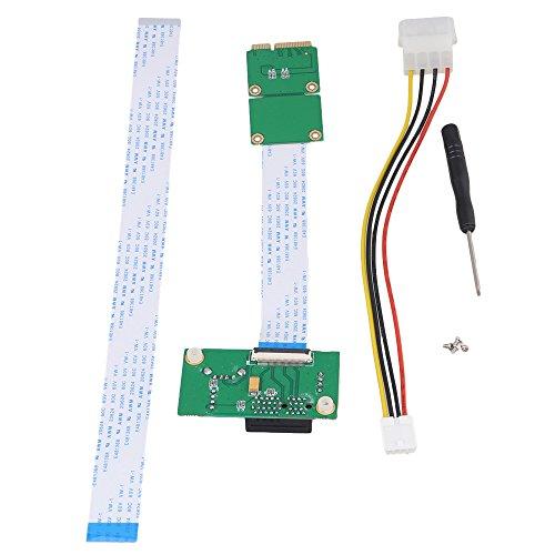 Preisvergleich Produktbild BQLZR Mini PCI-E to PCI-E Express 1X Extension Cord Adapter Card with USB Riser Card