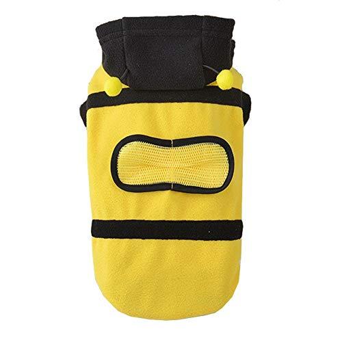Xl Kostüm Hunde Biene - LovelyPet Haustier-Kleidung Super Nette lustige Bienen-Kostüme drehten Teddy VIP-Hundekleidung (Size : XL)