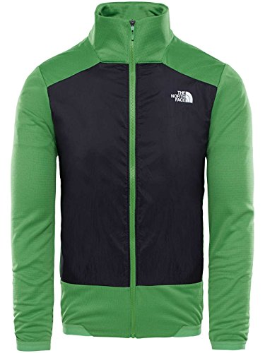 The North Face, Giacca fibra sintetica flashlight green-tnf black