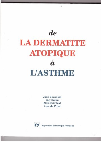 De la dermatite atopique a l'asthme PDF Books