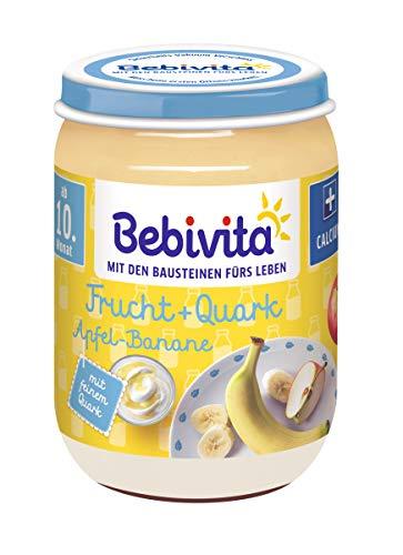 Bebivita Apfel-Banane Quark, 6er Pack (6 x 190 g)