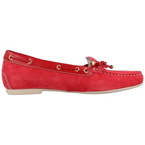 Mocassini donna, color Rosso , marca STONEFLY, modelo Mocassini Donna STONEFLY CAPRI II Rosso Rosso